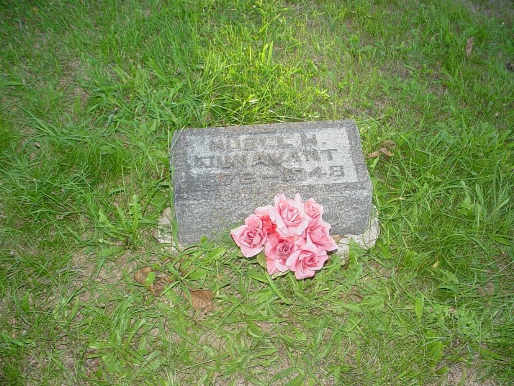 Nuell H. Smith Dunavant Headstone Photo, Hillcrest Cemetery, Callaway County genealogy