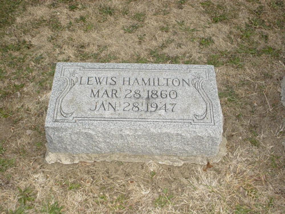 Lewis Hamilton Holt Headstone Photo, Hillcrest Cemetery, Callaway County genealogy