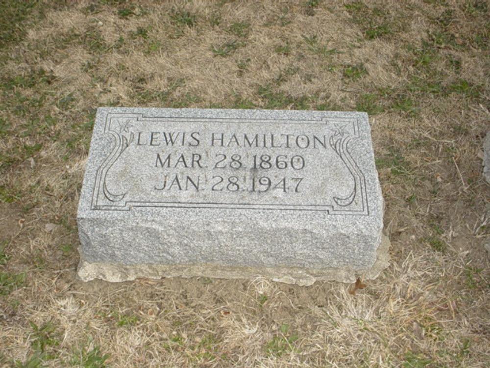 Lewis Hamilton Holt Headstone Photo, Hillcrest Cemetery, Callaway County genealogy