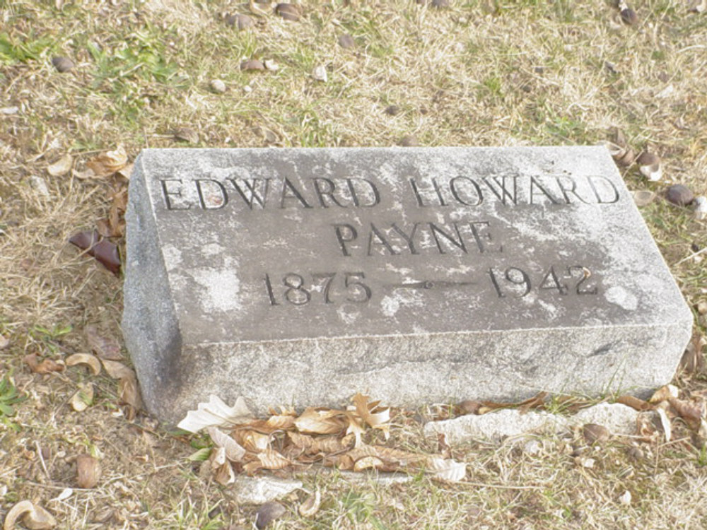 Edward Howard Payne Headstone Photo, Hillcrest Cemetery, Callaway County genealogy