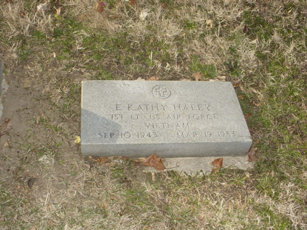 E. Kathy Haley Headstone Photo, Hillcrest Cemetery, Callaway County genealogy