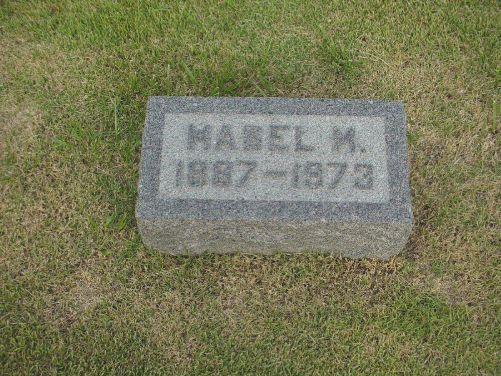 Mabel M. Millard Headstone Photo, Hillcrest Cemetery, Callaway County genealogy