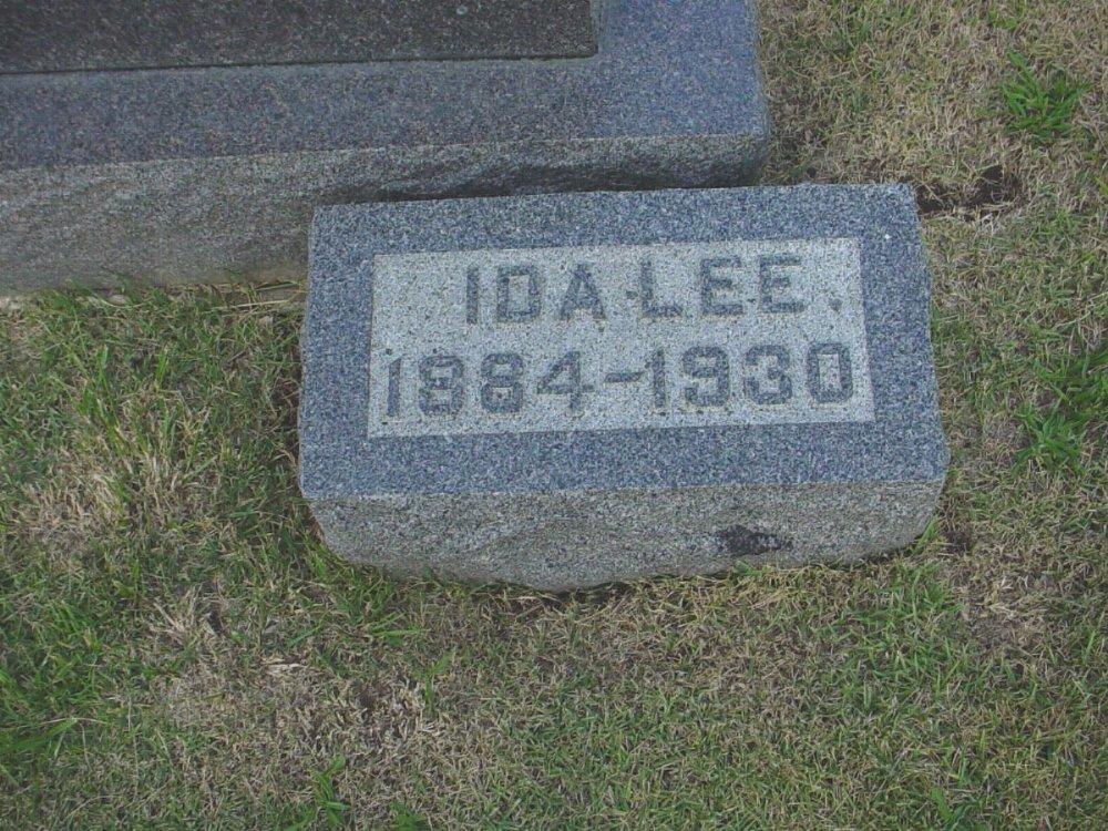 Ida Lee Carrington Millard Headstone Photo, Hillcrest Cemetery, Callaway County genealogy