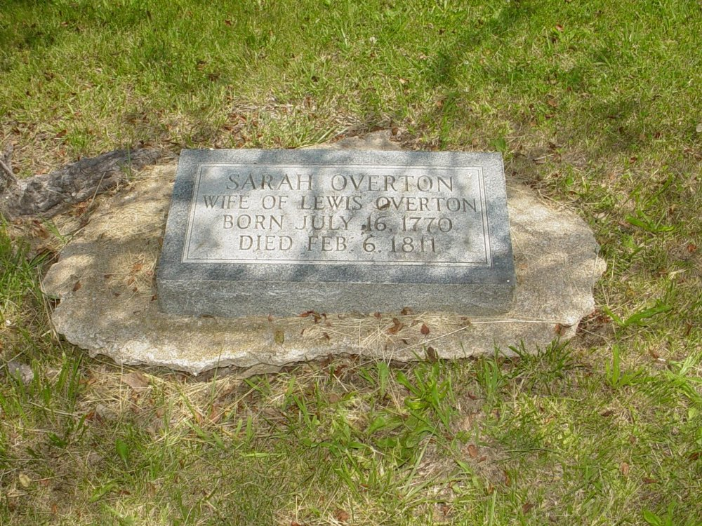 Sarah Gibbs Overton Headstone Photo, Hillcrest Cemetery, Callaway County genealogy
