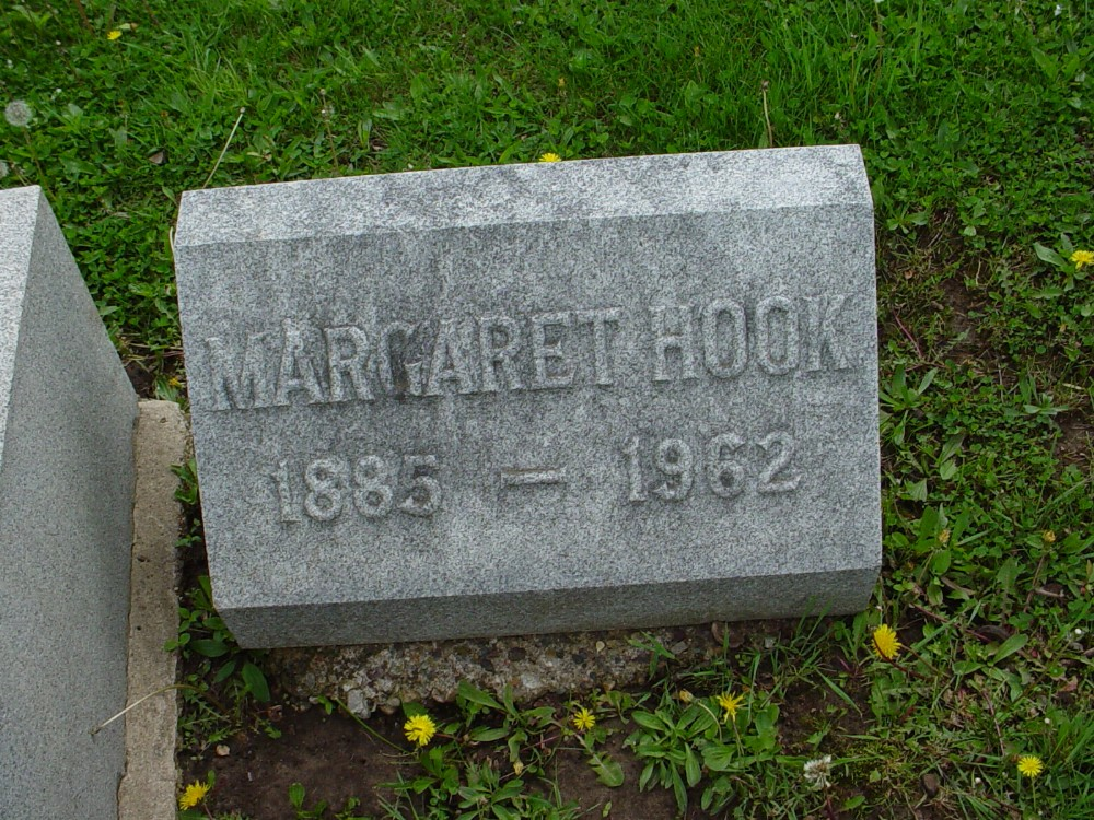 Anna Margaret LaRue Hook Headstone Photo, Hillcrest Cemetery, Callaway County genealogy