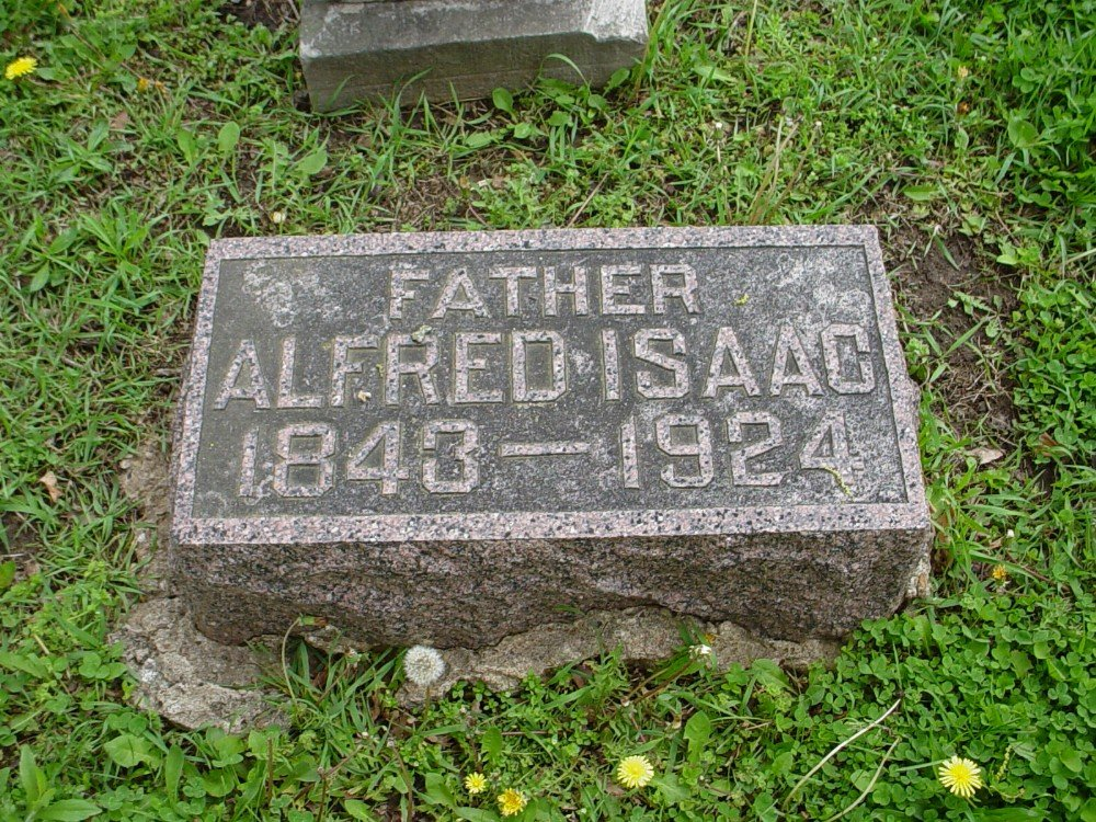 Alfred Isaac Owen Headstone Photo, Hillcrest Cemetery, Callaway County genealogy