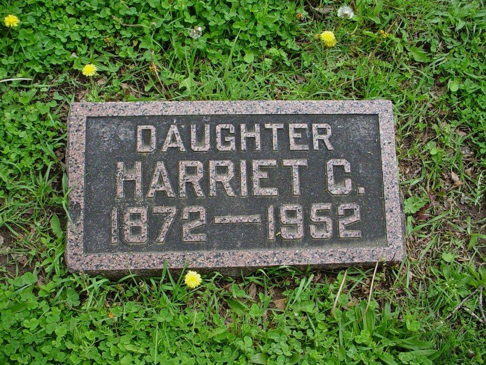 Harriet C. Owen Headstone Photo, Hillcrest Cemetery, Callaway County genealogy