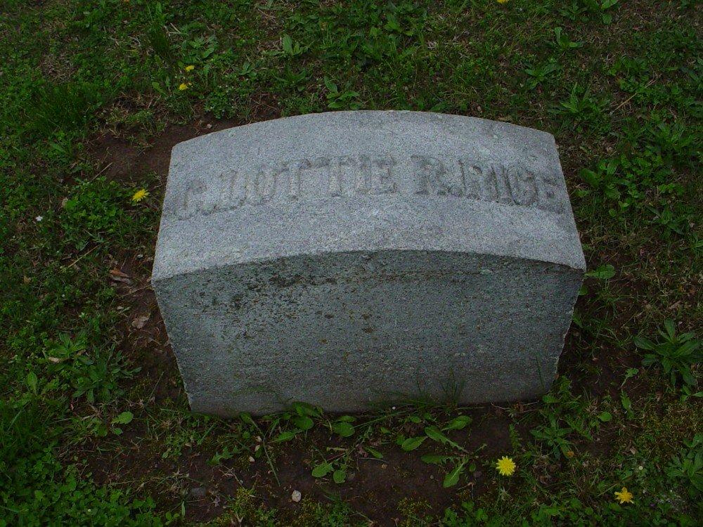 C. Lottie R. Rice Headstone Photo, Hillcrest Cemetery, Callaway County genealogy