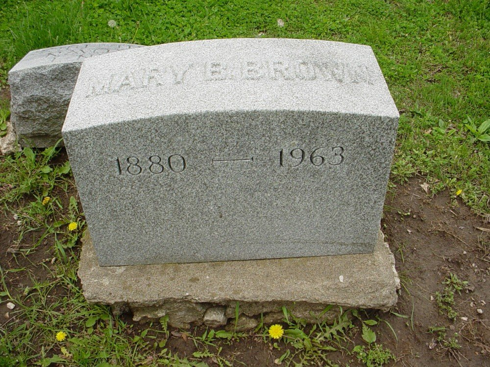 Mary B. Brown Headstone Photo, Hillcrest Cemetery, Callaway County genealogy