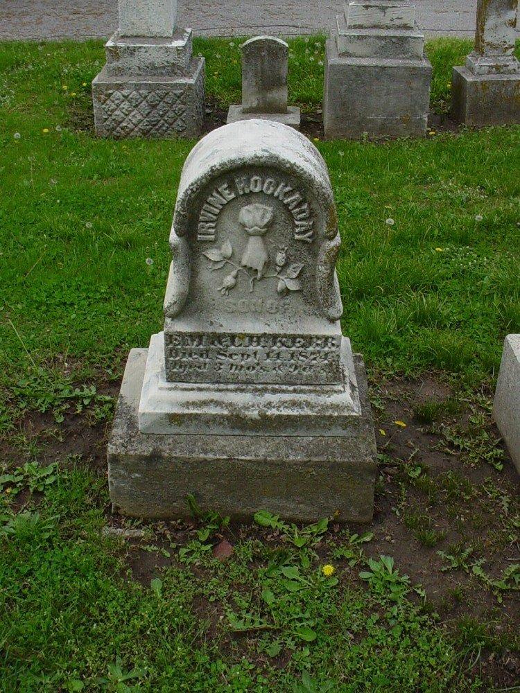 Irvine Hockaday Kerr Headstone Photo, Hillcrest Cemetery, Callaway County genealogy