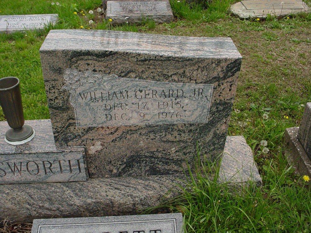 William Gerard Bedsworth Headstone Photo, Hillcrest Cemetery, Callaway County genealogy