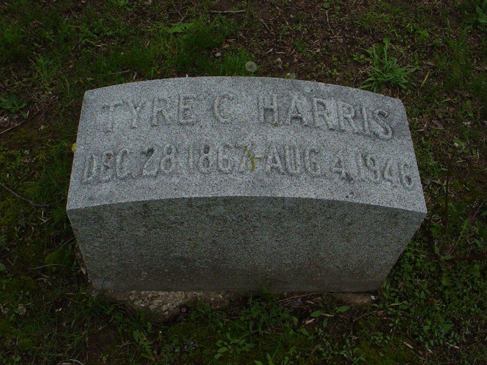Tyre C. Harris Sr. Headstone Photo, Hillcrest Cemetery, Callaway County genealogy