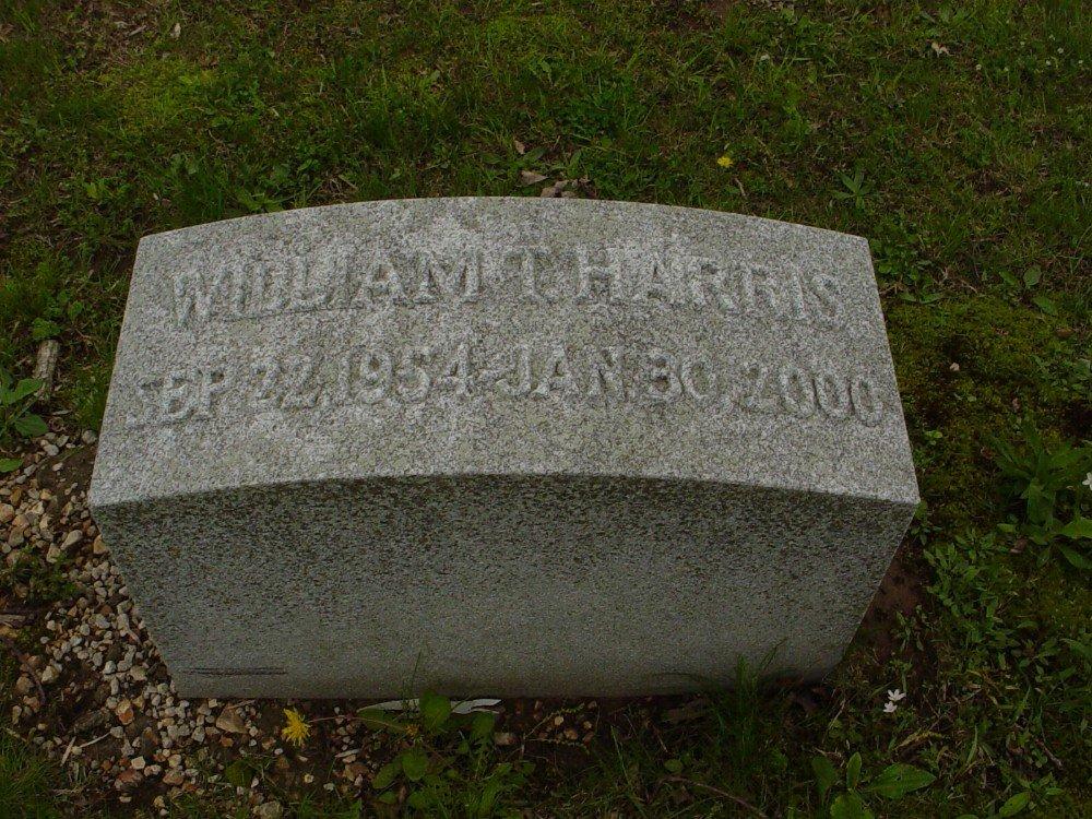 Rev. William Tyre Harris Headstone Photo, Hillcrest Cemetery, Callaway County genealogy