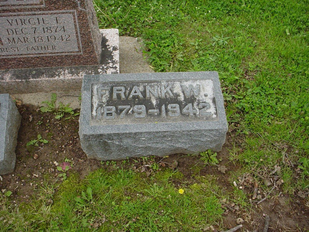 Franklin Wall Hazelrigg Headstone Photo, Hillcrest Cemetery, Callaway County genealogy