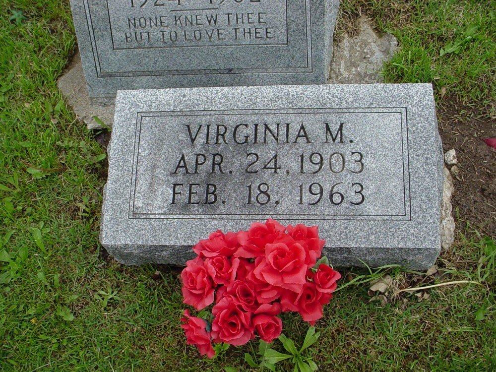 Laura Virginia Morrison Jatho Headstone Photo, Hillcrest Cemetery, Callaway County genealogy