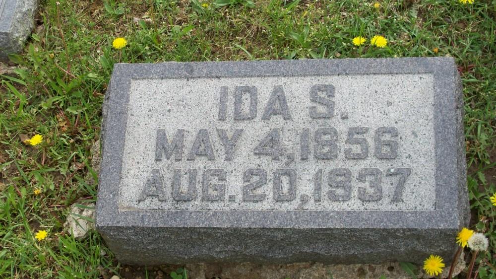 Ida Sartor Lorenz Headstone Photo, Hillcrest Cemetery, Callaway County genealogy