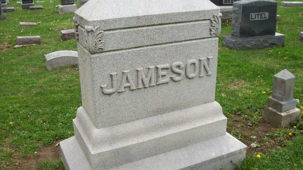 Jameson family Headstone Photo, Hillcrest Cemetery, Callaway County genealogy