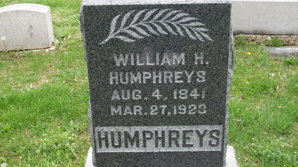 William H. Humphreys Headstone Photo, Hillcrest Cemetery, Callaway County genealogy
