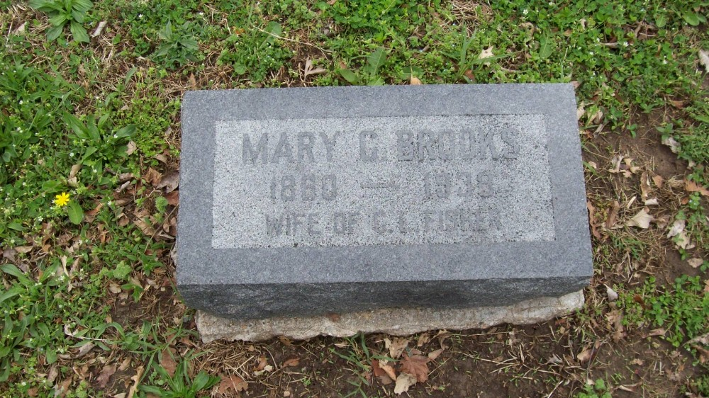 Mary C. Brooks Fisher Headstone Photo, Hillcrest Cemetery, Callaway County genealogy