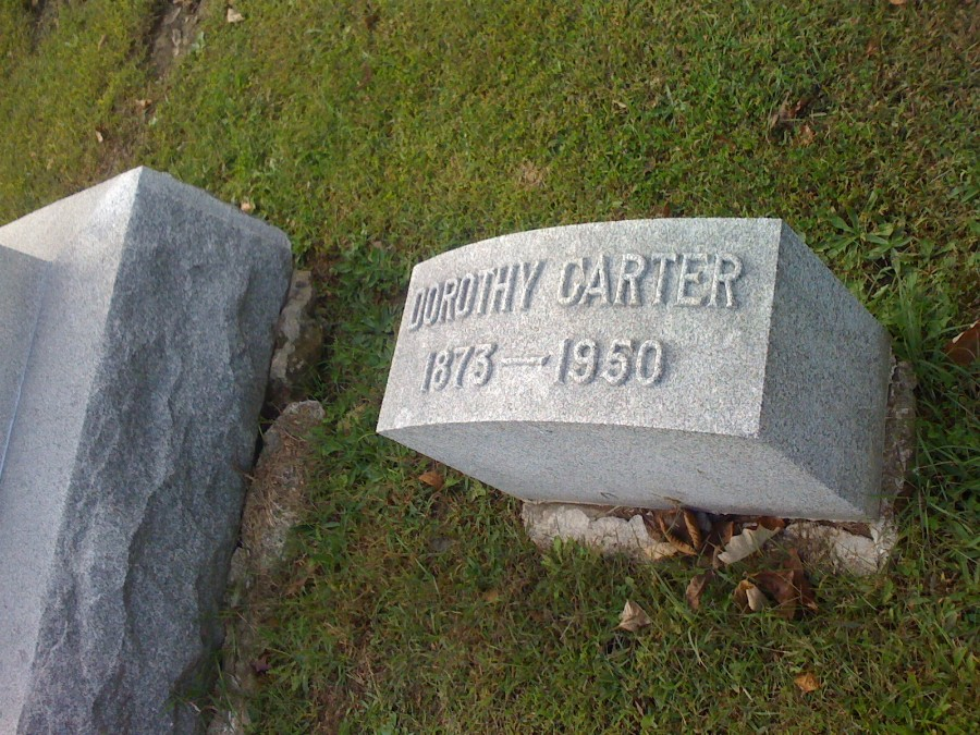 Dorothy Carter Headstone Photo, Hillcrest Cemetery, Callaway County genealogy