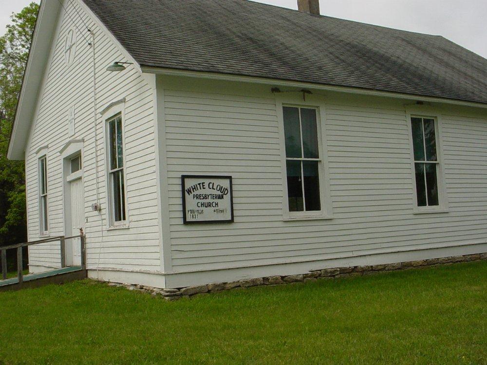 White Cloud Presbyterian Church Headstone Photo, White Cloud Presbyterian Church Cemetery, Callaway County genealogy