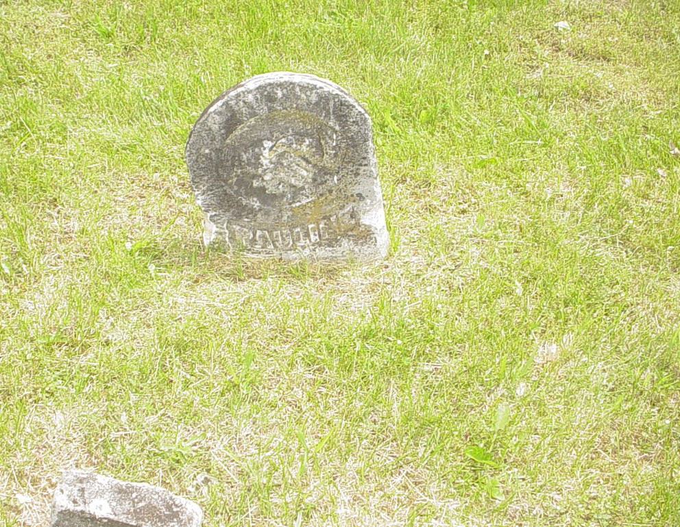 Pauline Shaw Sampson Headstone Photo, White Cloud Presbyterian Church Cemetery, Callaway County genealogy
