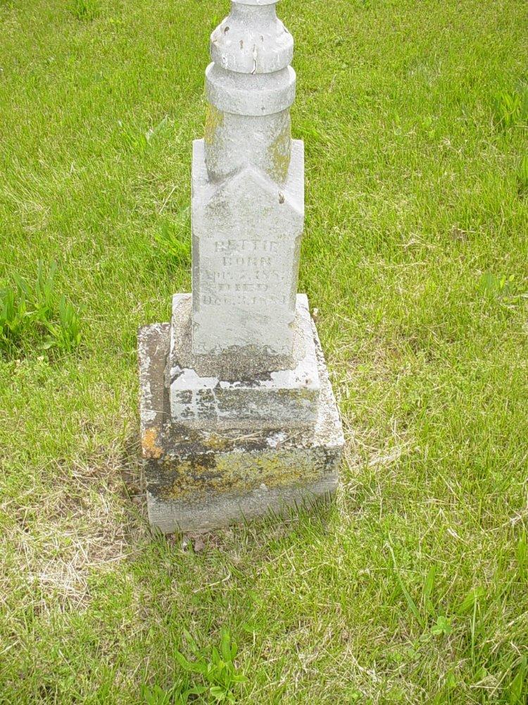 Bettie Willett Headstone Photo, White Cloud Presbyterian Church Cemetery, Callaway County genealogy