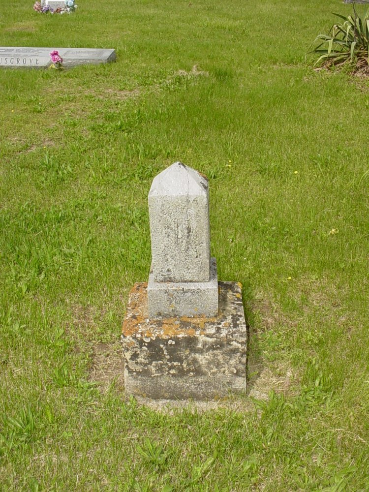 Bessie V. Allen Headstone Photo, White Cloud Presbyterian Church Cemetery, Callaway County genealogy